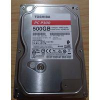 Жесткий диск Toshiba P300 500 Гб