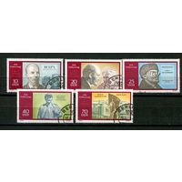 ГДР - 1970 - Ленин - [Mi. 1557-1561] - полная серия - 5 марок. Гашеные.  (Лот 14L)