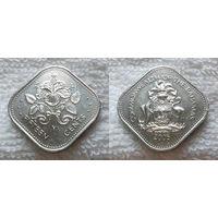 G Багамские острова 15 центов 2005 г. UNC из рола