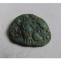 Бронзовая монета Кельты