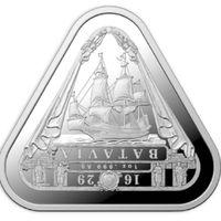 """Монета Австралии """"Кораблекрушение Батавии"""", Тираж 20 тыс. 1 oz"""