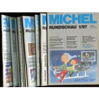 Michel Rundschau. Годовой комплект 12 номеров за 1997