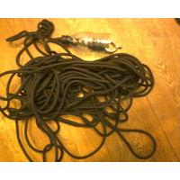 Шнур+ рымболт для поискового магнита-30 м.Оснащён