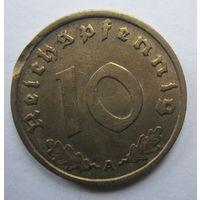 Германия. 10 рейхспфеннигов 1937 A. 355