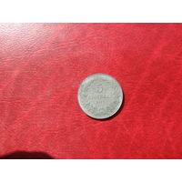 5 стотинок 1917 года Болгария (цинк)