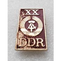 XX DDR. 20 лет основания ГДР. Германская Демократическая Республика #1290-CP22
