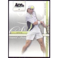2007 Ace Authentic карточка David Ferrer теннис