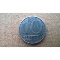 Польша 10 злотых, 1988г.(Б-3)