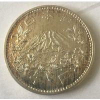 Япония, 1000 йен, 1964, серебро