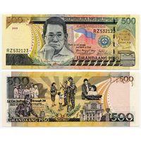 Филиппины. 500 писо (образца 2008 года, P196b, XF)