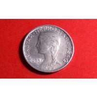 5 филлеров 1961. Венгрия. Хорошая!