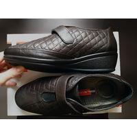 Кожаные туфли Atiker для проблемных ног 38