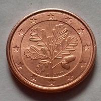 1 евроцент,  Германия  2017 A