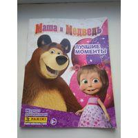 Альбом для наклеек Маша и Медведь