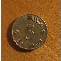 Латвия - 5 сантимов - 2009