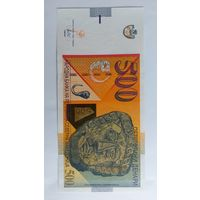 Северная Македония 500 динар новинка состояние UNC