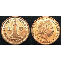 W: Остров Мэн 1 пенни 2008 (1077)