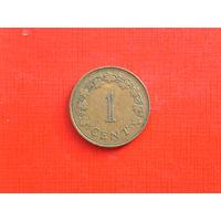 1 цент 1975г. Мальта.