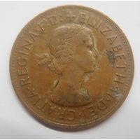 Австралия 1 пенни 1956 г Кенгуру