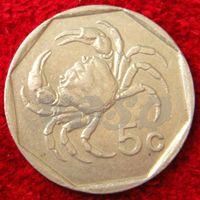 7159:  5 центов 1991 Мальта