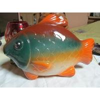 Керамическая рыбка крышка