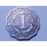 Белиз 1 цент 2007 г.Аукцион с 1.00 руб.