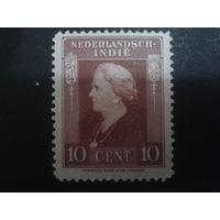 Нидерландская Индия 1937 Колония королева Вильгельмина