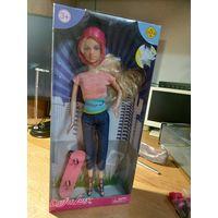 Кукла Defa гнущиеся ноги с рубля