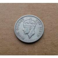 Южная Родезия, 1 шиллинг 1951 г., Георг VI (1936-1952)