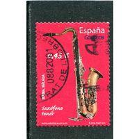 Испания. Музыкальныче инструменты. Вып.1 Саксафон