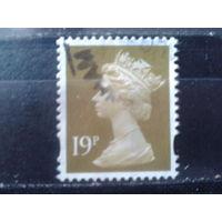 Англия 1993 Королева Елизавета 2  19 пенсов