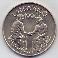 Венгрия, 100 форинтов 1989 года. Футбол, ЧМ 1990 года.