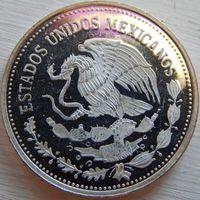 13. Мексика 25 песо 1985 год, серебро