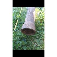 Труба канализационная чугунная, длина 2 метра, продам.