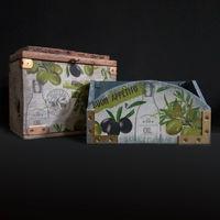 Сундук и коробок Оливковый