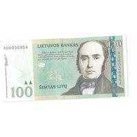 Литва. 100 лит (образца 2007 года, P70)