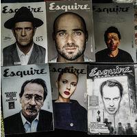 Журналы Esquire. 6 штук
