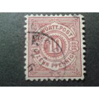 Германия Вюртемберг 1875 стандарт