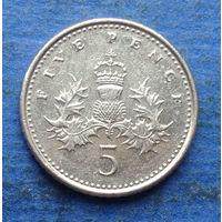 Великобритания 5 пенсов 2000