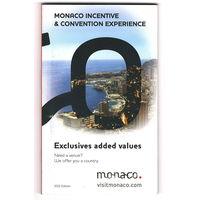 Карманный буклет Монако (на англ. и франц. яз.)