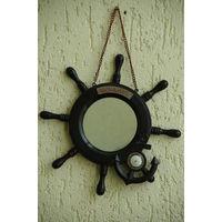 Сувенир - зеркало  из СССР  30 см