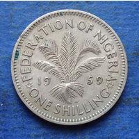 Нигерия Британская колония 1 шиллинг 1959