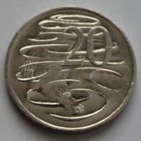 Австралия, 20 центов 2008 г.