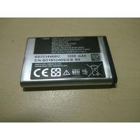 НОВАЯ Батарея AB553446BU для телефонов SAMSUNG E2652, E2652W, GT-C3300, GT-C3300K, GT-C5130U, GT-E1110C, GT-E2120, GT-E2120C, GT-E3300, GT-S5150, M3200, SGH-B108, SGH-CC03, SGH-L250.