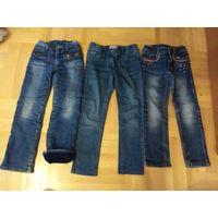 Джинсы, джинсы на байке 116, 122, 128