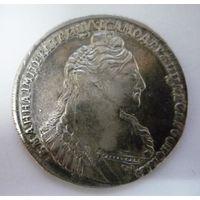 1 РУБЛЬ 1737 АННА РОССИЯ серебро