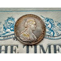 Монета РИ, 1 рубль 1777.