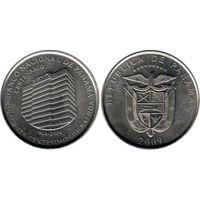 Панама 50 сентесимо 2009 UNC