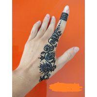 Менди, Мехди, махенди, временное тату на руках, рисунки хной