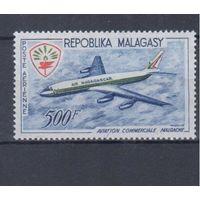 [559] Мадагаскар 1963. Авиация.Самолет.
